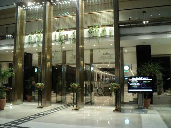 Pearl Continental Lahore: The shopping area and conference centre