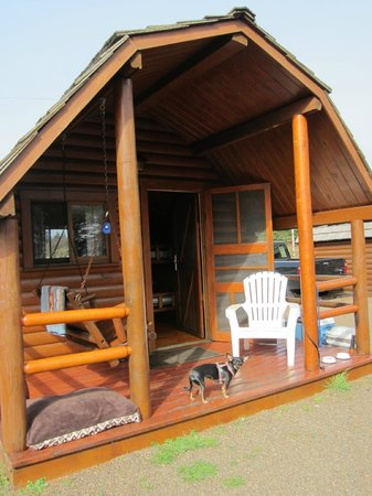 Waldport Newport KOA: Cabin (sleeps 4)