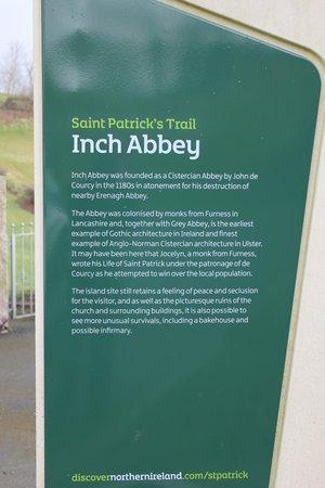 Inch Abbey : Info