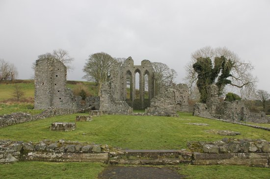 Inch Abbey: The Abbey Ruins
