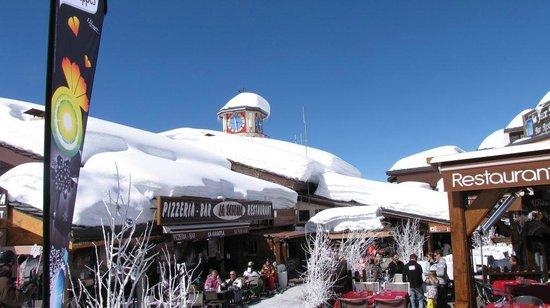 La Plagne Ski Resort: Belle-Plagne centre