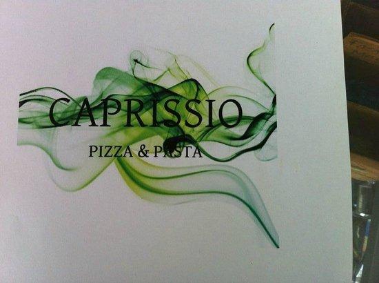 Caprissio PIZZA & PASTA: Logo del Menu