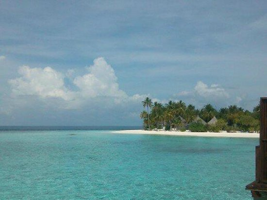 Angaga Island Resort & Spa: Vista desde water villa
