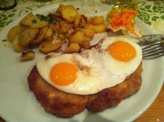schnitzel with pork bild fr n potters restaurant l beck tripadvisor. Black Bedroom Furniture Sets. Home Design Ideas