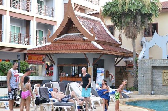 Amata Patong: piscine