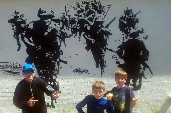 Camp Gordon Johnston Museum: First Wave