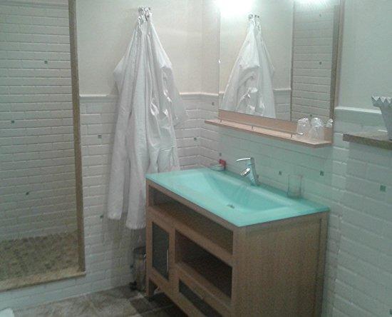 Demeure Saint Louis: baño