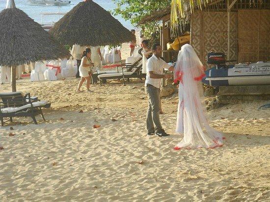Easy Diving and Beach Resort: la sposa