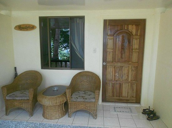 Easy Diving and Beach Resort: cottage n.5  - spadefish