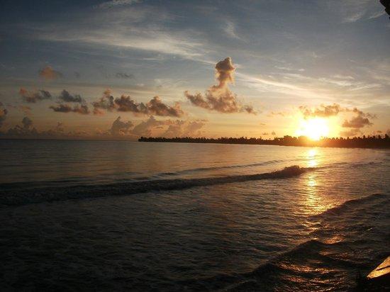 Hotel Yunque Mar: Desde la terraza donde tomamos el desayuno.