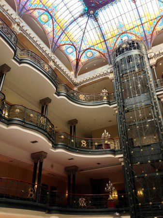 Gran Hotel Ciudad de Mexico: Awesome.