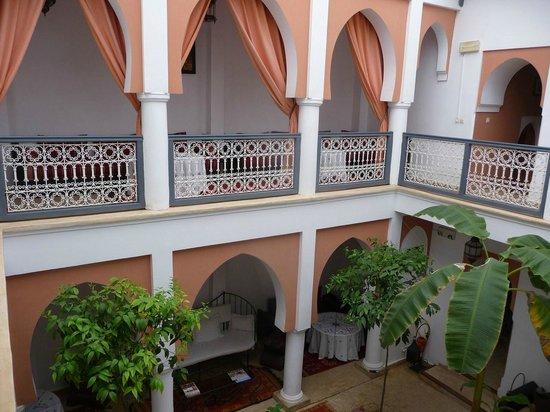 Riad Dar Shana: l'intérieur du riad