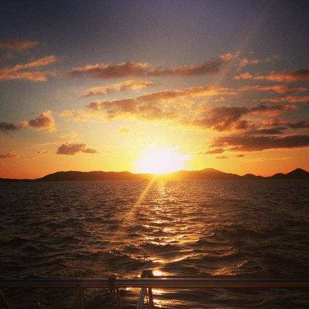 Cruz Bay Watersports: Sunset Cruise