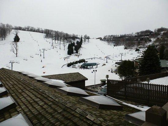Seven Springs Mountain Resort: Ski Resort from Lodge