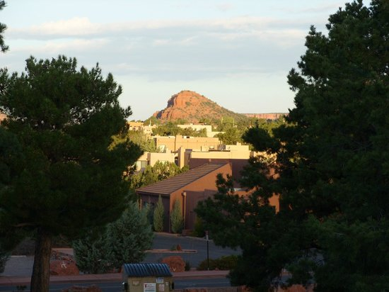 Best Western Plus Inn of Sedona: View from our balcony