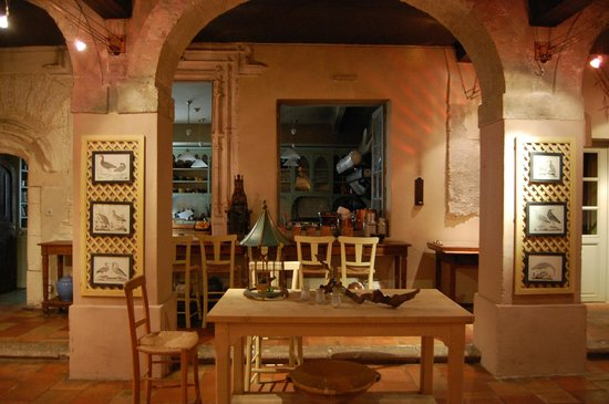 La Mirande Hotel: The old kitchen