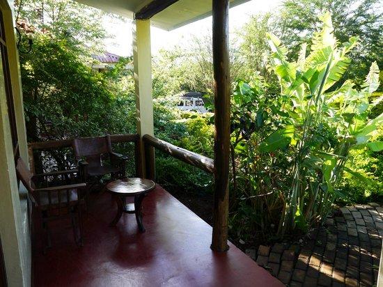 Eileen's Trees Inn: room/terrace