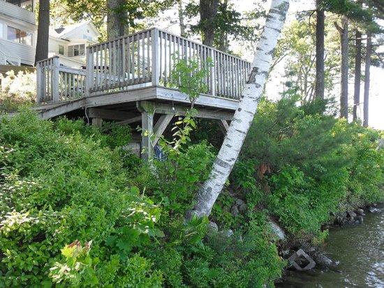 Sebago Lake Lodge & Cottages: Sitting Area