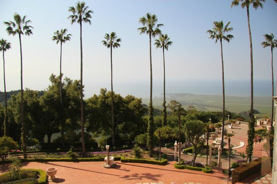 Hearst Castle: View