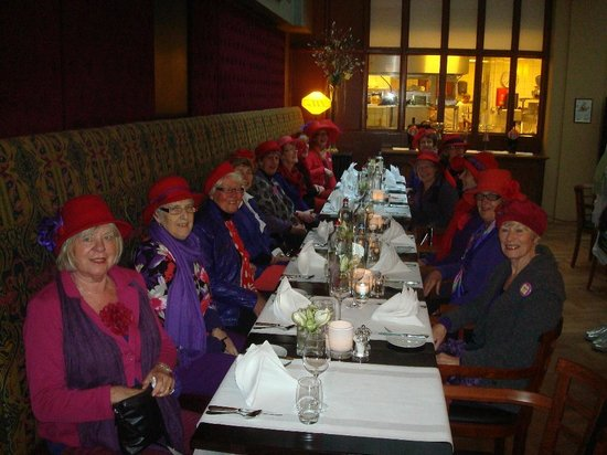 Grand Hotel Amrath Amsterdam: THE RED HAT SOCIETY