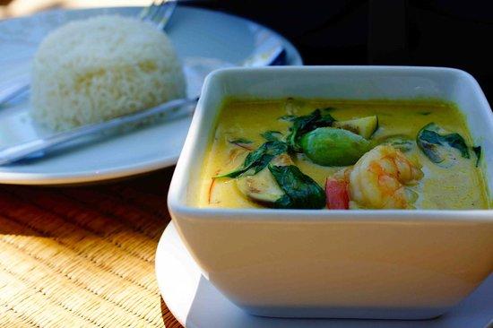 LaLaanta Hideaway Resort: Delicious curry
