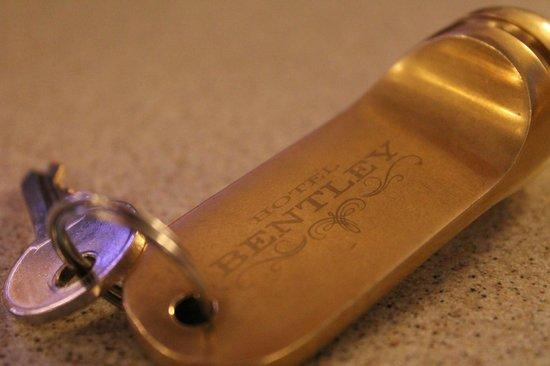Bentley Hotel: Наш ключик