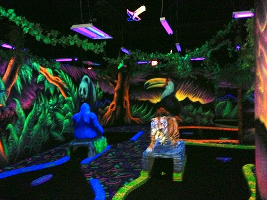 Mini Cooper Portland >> Shankz Black Light Mini Golf (Olympia) - All You Need to Know Before You Go - UPDATED 2018 ...