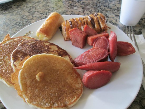 ClubHotel Riu Bambu : some breakfast
