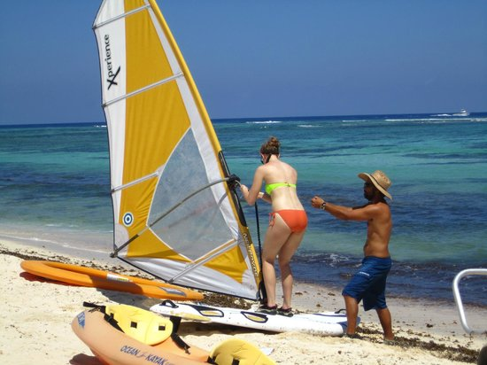 White Sand Water Sports: Windsurf Lesson