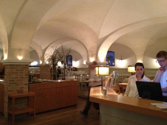 Fuerstenfelder Hotel: The hotel restaurant is worth the short walk
