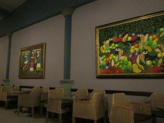 Hotel Riu Bambu: Beautiful art