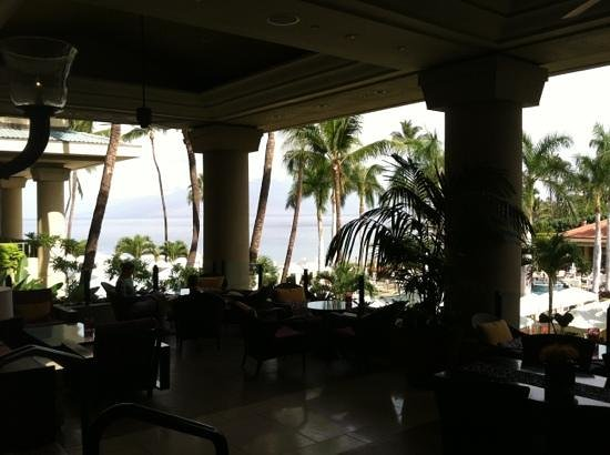 Lobby Lounge at Four Seasons Resort: great view