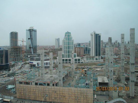 Movenpick Hotel Ankara: Panorama.......!?!