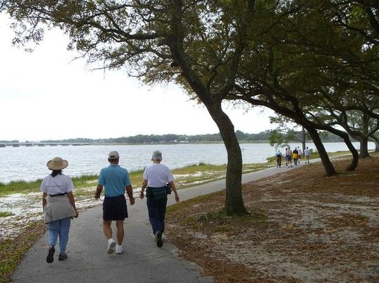 Bayou Grande Villas: Navy Pointe trail and beach - pet friendly