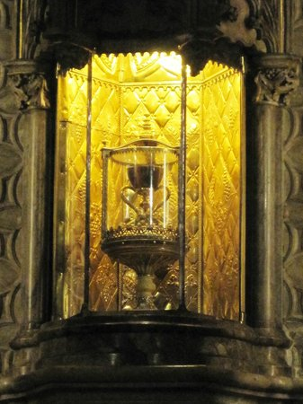 Chapel of the Holy Grail: SANTO GRIAL.