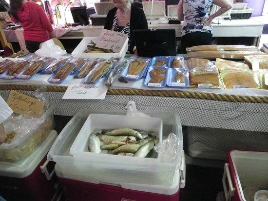 Fredericton Boyce Farmers Market: Fishmonger