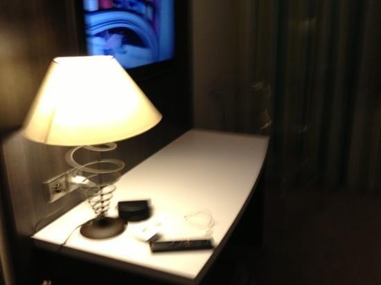 Hotel Les Oliviers : la TV grand écran