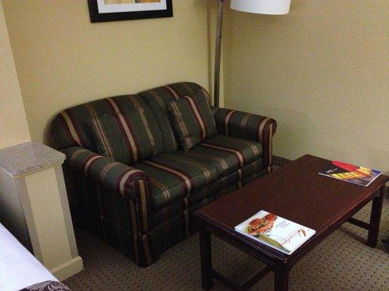 Best Western Plus Greensboro/Coliseum Area: apartment sofa