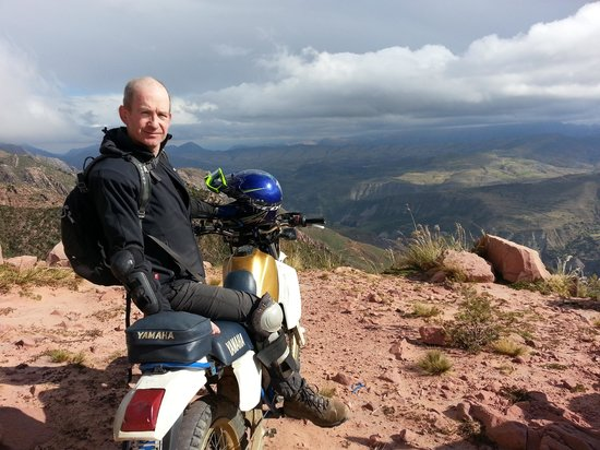 Joy Ride Turismo: Looking out from 3700m to the Maragua crater outside Sucre, Bolivia