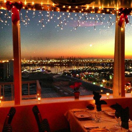 sunset ocean view - Picture of The Sky Room, Long Beach - TripAdvisor