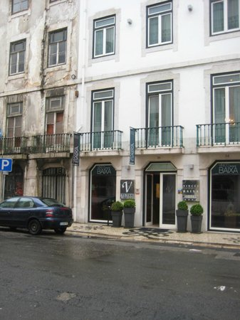 Vincci Baixa: ENTRADA HOTEL
