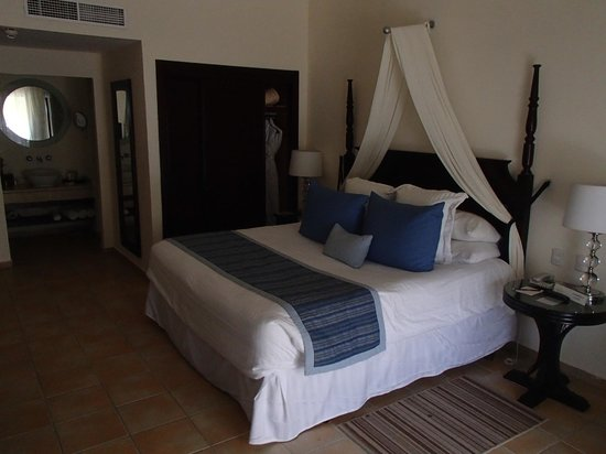 Dreams Palm Beach Punta Cana: chambre deluxe vue tropical