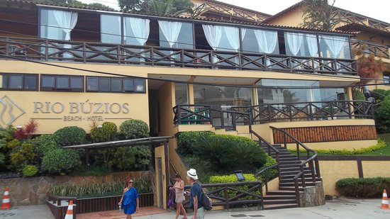 Rio Buzios Beach Hotel: la fachada del hotel