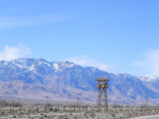 Manzanar National Historic Site: Guard Tower