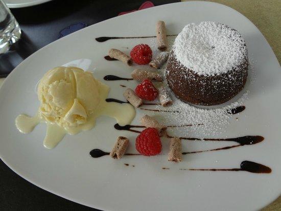 Le Cafe Lenotre: Chocolate Fondant