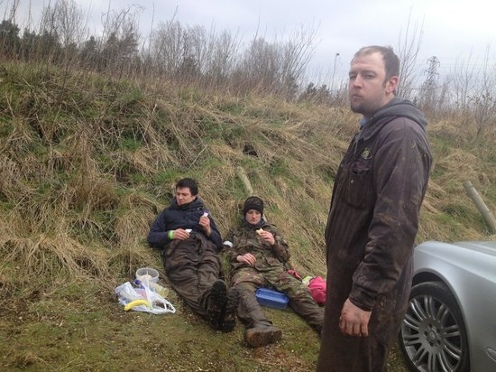 Delta Force Paintball Southampton: Lunch time