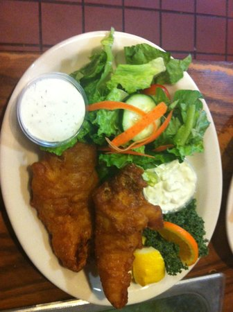 Crow's Nest Bar & Grill: Beer Batter Fish