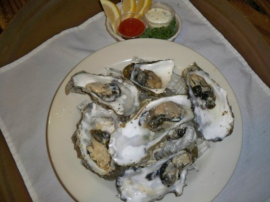 Crow's Nest Bar & Grill: Oysters on the half shell
