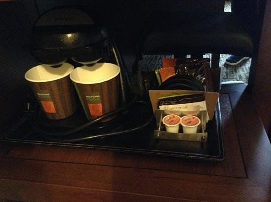 Doubletree Collinsville/St. Louis: Wolfgang Puck coffee