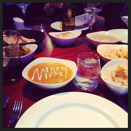 Maharaja: Great food!